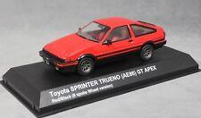Kyosho Toyota Sprinter Trueno (Corolla AE86) GT Apex  in Red 03892R 1/43 NEW
