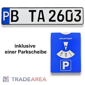 1 Parkplatz-Schild    Kennzeichen  mit ihrem geprägten Wunschtext