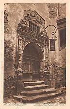 BG26174 rothenburg altes rathaus portal    germany