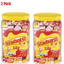 Starburst Original Fruit Chews Candy Jar (54 oz.) Pack of 2