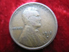 1915-S Lincoln Wheat Cent, BETTER GRADE ORIGINAL COIN! TOUGHER DATE COIN!