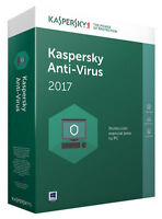 Kaspersky Anti-Virus 1 Anno x 1 PC Global Key Digital Download ESD