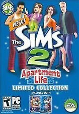 Sims 2: Apartment Life -- Limited Collection (PC, 2008)