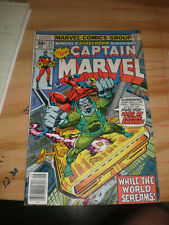 Captain Marvel   # 52  comic book