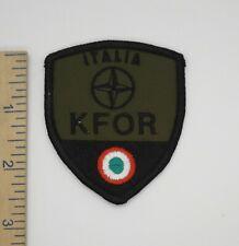 ITALIAN FORCES KFOR ITALIA NATO PATCH Vintage Original ITALY