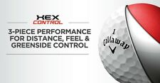 100 AAA+ Callaway HEX CONTROL Used Golf Balls + 50 pack 2 3/4 Tees