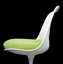 Slip-On CUSHION COVER for Saarinen or Burke TULIP SIDE CHAIR (Lime)