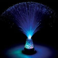BLUE FIBRE OPTIC ICE STARLIGHT NIGHT LIGHT - Sensory Autisum Bedtime ASD
