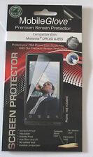 MobileGlove Motorola DROID A855 Premium Screen Protector