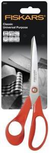FISKARS Classic General Purpose Left Handed Scissors Office Kitchen 21cm