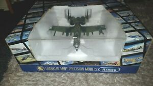 FRANKLIN MINT ARMOUR COLLECTION DIECAST AIRCRAFT A10 WARTHOG 1/48