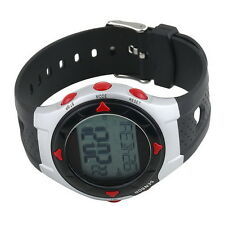 Waterproof Pulse Heart Rate Monitor Watch Calorie Counter Sport Exercise KK