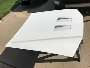 87-88 OEM Ford Thunderbird Turbo Coupe front hood assembly with scoop & plenum