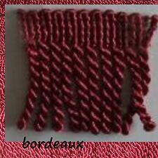 1m Fransen Drellierfranse Heimtextilien Gardinen Sofa Kissen 6cm 26 Farben