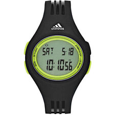 adidas Men's Silicone/Rubber Band Digital Wristwatches