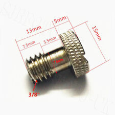 2x 3/8 Thumb Screw for Camera Case or Tripod and Studio Stand Attachment