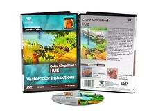 COLOR SIMPLIFIED- HUE, DVD with JOANNE COKE, WATERCOLOR  STUDYING COLOR FACETS,