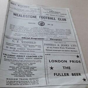 6 FA Amateur Cup Qualifiers 1957/58