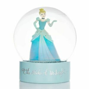 Disney Christmas By Widdop And Co Snowglobe: Cinderella 'At the Stroke of Midnig
