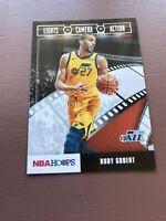 2019-20 Panini NBA Hoops Lights Camera Action 21 Rudy Gobert