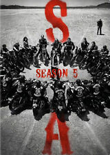 Sons of Anarchy Season 5 DVDs & Blu-ray Discs