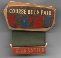 Orig.Pin    XVI.Internationale Friedensfahrt 1963  -  VERANSTALTER  !!  RARITÄT