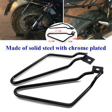 Motorycle Bracket Rack Saddle Pannier Bag Black Spacer Support Bar Protector Kit