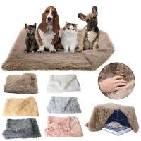 Warm Winter Extra Large Dog Cat Puppy Blanket Pet Soft Fluffy Fleece Cosy Mat