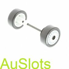 Scalextric W9262 SKODA FABIA Front Wheel Assembly (eg.c2645)world Post Deal*