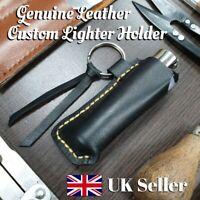 Handmade Custom Leather Lighter Holder Case Pouch Gift Clipper for Men & Women