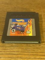 1999 Nintendo Gameboy Color Hot Wheels: Stunt Track Driver Video Game Tested