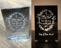 Personalised Gifts For Her Mum Mummy Nanny Nana Mam Christmas Candle Holder Gift