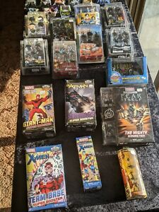 Lot of Heroclix Pacfic Rim X-Men Street Fighter Bioshock Etc $5 and up
