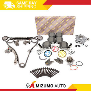 Overhaul Engine Rebuild Kit Fit 03-04 Infiniti FX35 G35 / 03-06 Nissan 350Z 3.5
