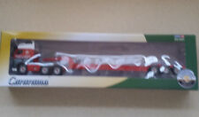 CARARAMA Volvo FH12 1/50 Die Cast Truck & Low Loader Red (Brand New)