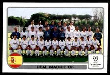 Panini Champions League 2001-2002 Real Madrid Team No. 1