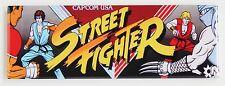 Street Fighter Marquee FRIDGE MAGNET (1.5 x 4.5 inches) arcade video game header