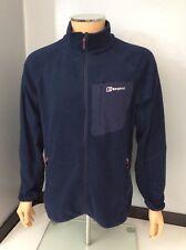 Berghaus Mens Fleece Jacket, Coat, Size Large, L, Blue, Immaculate