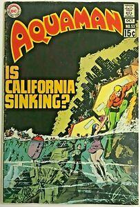 AQUAMAN#53 FN/VF 1970 DC BRONZE AGE COMICS