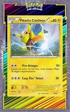 Pikachu Catcheur - XY :Kit Dresseur - 14/30 - Carte Pokemon Neuve Française