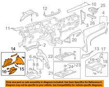 Cadillac GM OEM 13-14 XTS Instrument Panel Dash-Knee Bolster 23116746