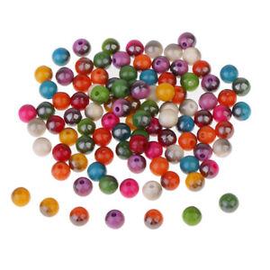 100 Stücke Bunte Harz Perlen Europäischen Perlen Für Halsketten DIY Schmuck