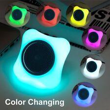 Mini Altavoz Portátil Bluetooth con luces LED que Cambia de Color con Soporte Micro Sd