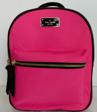 New Kate Spade small Bradley Wilson Road Nylon Backpack handbag Radish