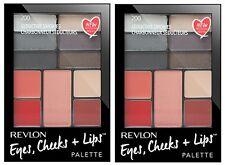 Revlon Eyes Cheeks Lips Palette 200 Seductive Smokes