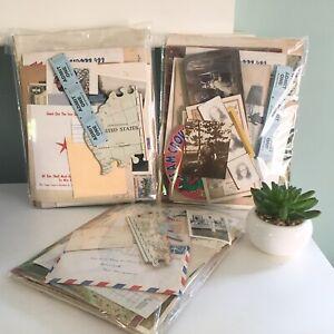 piece Assortment of Small Vintage Paper Ephemera 30