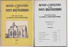 REVUE D HISTOIRE DU PAYS BRESSUIRAIS  1991  N° 41