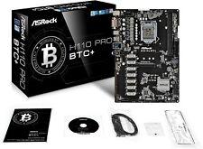 ASRock H110 Pro BTC+ LGA 1151 Intel H110 SATA 6Gb/s ATX Intel for Cryptocurrency