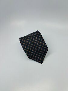 Paul Stuart Silk Tie Blue Red Geometric Mens Necktie 58 x 3.25