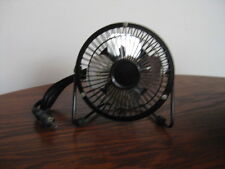 Mini Personal Fan - Strong Metal Construction - AC powered